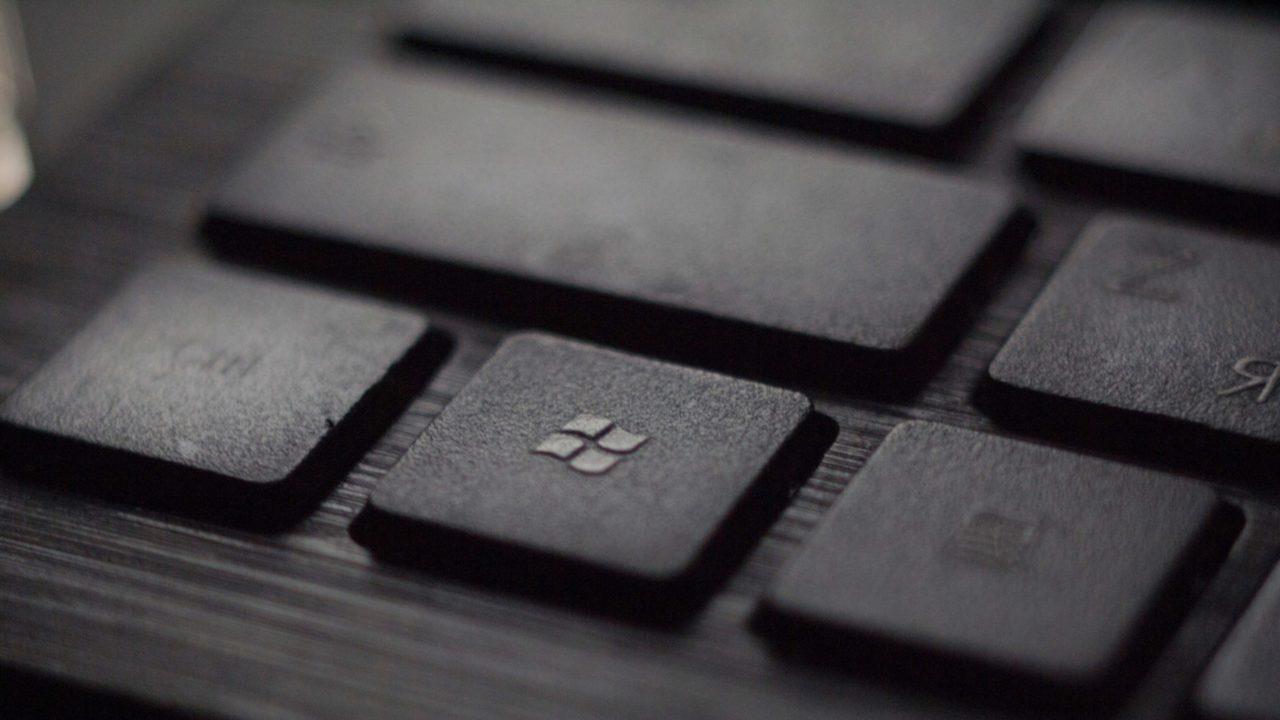 キーボードにマイクロソフト