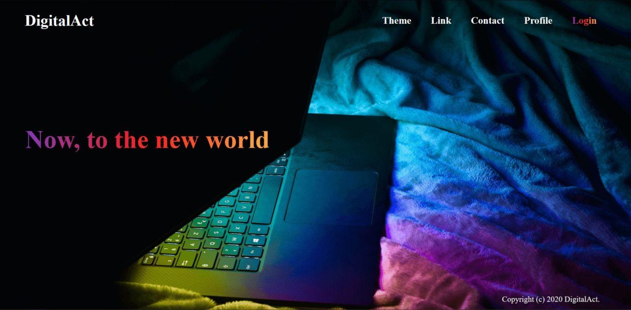 Webサイト Portfolio